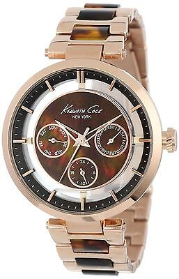 Kenneth Cole Ladies Watch with Partial Transparent Dial KC4929