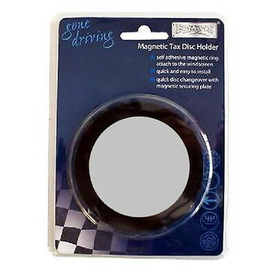 Car Contact Details Holder Boyz Toyz Magnetic Tax Disc Emergency Parking Permit