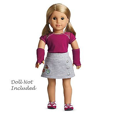 American Girl MY AG FRESH AND FUN OUTFIT for Dolls + Charm New in Box