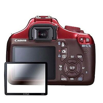 LCD Optical Glass Screen Protector Optical For Canon EOS Rebel T3 1100D Camera