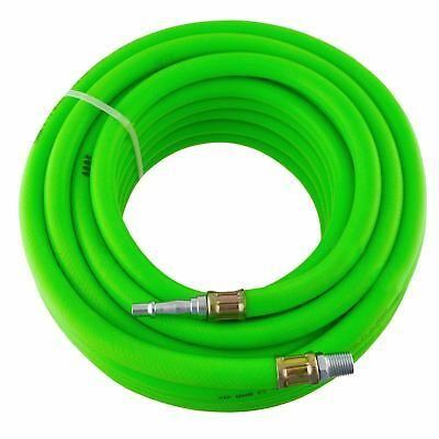 Airline Air Hose High Vis soft rubber 8mm 15m 50ft compressor hose BERGEN AT87