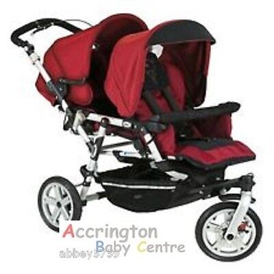 RAINCOVER to fit JANE POWER TWIN DOUBLE PUSHCHAIR replacement / FAST DELIVERY