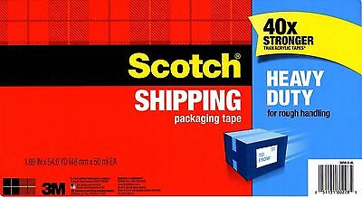 3M Scotch Heavy Duty Packaging Packing Shipping Moving TAPE 50 M Roll Quality
