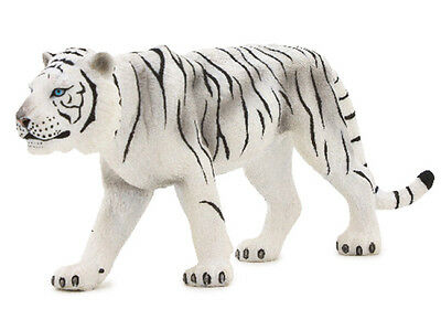 Mojo Fun 387013 White Tiger - Realistic  Wild Animal Model Toy Replica -NIP