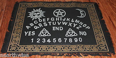 OUIJA BOARD ALTAR CLOTH Wicca Pagan Witch Goth Punk Spell