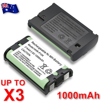 Battery For Panasonic HHR-P104 HHR-P104A Cordless Phone Ni-MH 3.6V 1000mAh