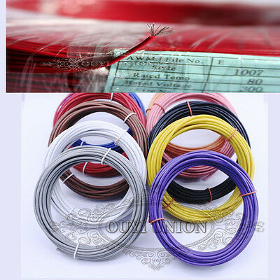 Flexible Equipment Wire 20AWG Multi Core Copper DIY Electrical Wire 10M/33FT