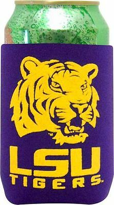 Louisiana State University LSU Tigers Can Coolie Koozie College Football