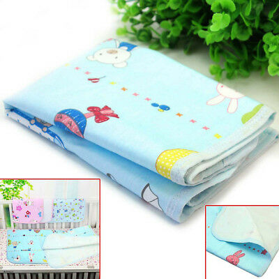 Reusable Changing Pad Cotton Baby Infant Travel Home Cover Waterproof Urine Mat
