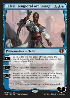 TEFERI, ARCIMAGO TEMPORALE - TEFERI, TEMPORAL ARCHMAGE Magic C14 Commander 2014