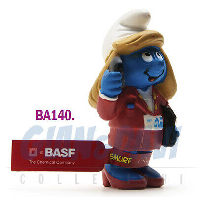 PUFFO PUFFI SMURF SMURFS PROMOTIONAL BA140 Hexalotte Basf Red label