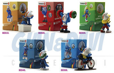PUFFO PUFFI SMURF SMURFS PROMOTIONAL BE010 Belgium Olympic Teams 2012 In box