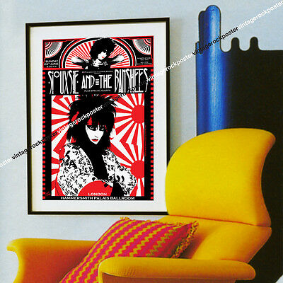 SIOUXSIE and the BANSHEES - London,Uk - 24 june 1984 - concert poster - c663
