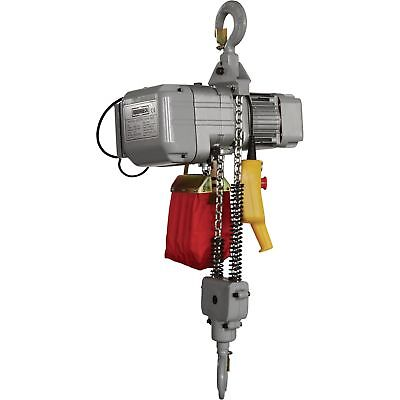 Roughneck Round Chain Electric Hoist -1-Ton Capacity