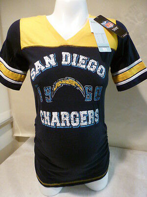 Womens Ladies SAN DIEGO CHARGERS Motherhood MATERNITY Football Jersey Shirt  NEW b5efe1b8e