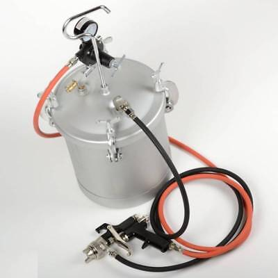 High Pressure Pot Air Paint Spray Gun 2 1/4 Gallon Industrial Painting Painter