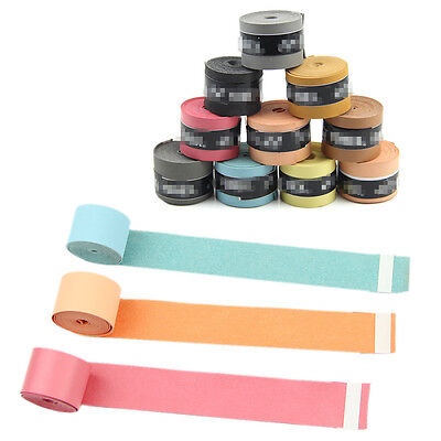 10PCS Colors Anti-slip Racket Over Grips Bat Sport Tennis Badminton Squash Tape