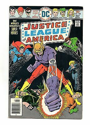 Justice League of America Vol 1 No 130 May 1976 (FN+ to VFN-) DC, Bronze Age