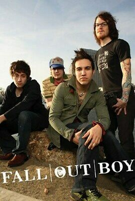 FALL OUT BOYS POSTER Amazing Group Shot RARE NEW HOT 1