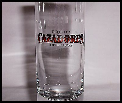 Shot Glass Cazadores Tequila 100% De Agave Shooter Size Cocktail Recipe  New 11