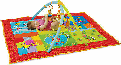 Taf Toys 2 IN 1 SMART GYM Baby/Child Extra Large Toy Activity Play Mat BN