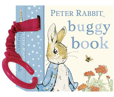 Rainbow Designs PETER RABBIT ATTACHABLE BUGGY BOOK Baby/Toddler Travel BN