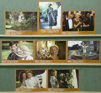 UK96 MRS DALLOWAY VANESSA REDGRAVE VIRGINIA WOOLF Lobby Set Spain