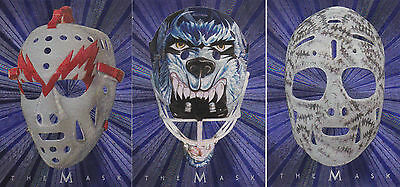 01-02 BAP Ed Giacomin The Mask Between The Pipes Red Wings 2001