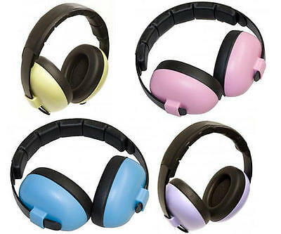 Baby Banz BABY MINI EARMUFFS HEARING PROTECTION Ear Defenders Kids Safety - New