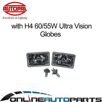 Crystal Outer Headlights Lamp Upgrade Kit H4 60/55w Toyota Landcruiser 80 Series