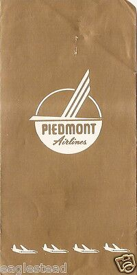 Ticket Jacket - Piedmont - Gold - F-27 404 Pacemakers - Route Map  (J1801)