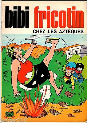 BIBI FRICOTIN n°56 - CHEZ LES AZTEQUES - SPE - 1976