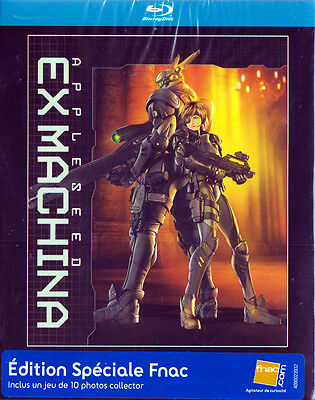 Appleseed Ex Machina - Edition spéciale FNAC (inclus 10 photo collector) Blu-ray