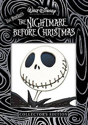 The Nightmare Before Christmas BRAND NEW COLLECTOR'S EDITION DVD *FAST SHIP*