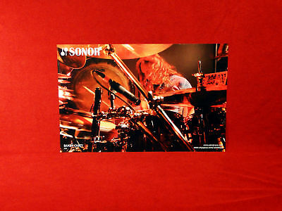 Tool *Danny Carey* Sonor Drums Promo Poster    RARE