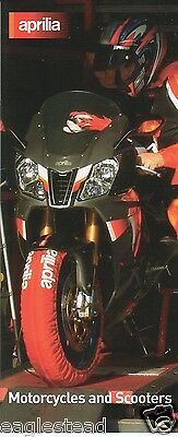 Motorcycle Brochure - Aprilia - Product Line Overview incl Scooter c2004 (DC99)