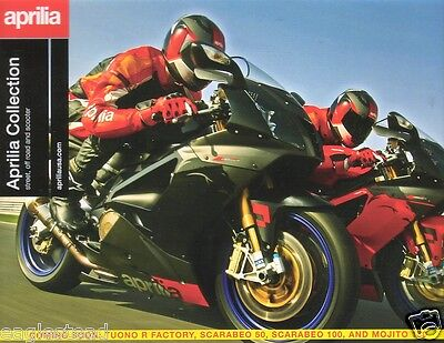 Motorcycle Brochure - Aprilia - Street Off Road & Scooter - 2007 (DC112)