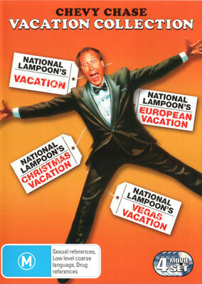National Lampoon's Vacation Collection (Chevy Chase) DVD R4 Brand New!