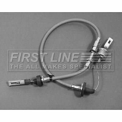 FIRSTLINE FKC1234 CLUTCH CABLE fit Audi 80 1.6 83-87