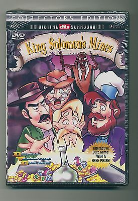 King Solomon's Mines Collectors Edition special features Quizz Game DVD-Rom comp