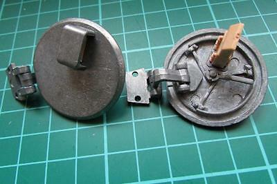 Taigen metal hatches for 1/16 scale Heng Long Tiger 1 tank - with periscopes