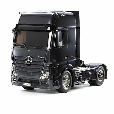 Tamiya 1:14 Truck Rc Mercedes Benz Actros 185 Gigaspace Limited Black Edition