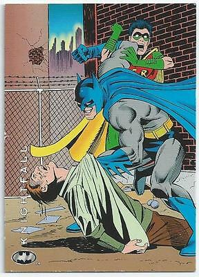 Batman - Saga Of The Dark Knight - Card 86 - Bad Blood (Abhm)
