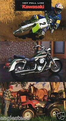 Motorcycle Brochure - Kawasaki - Product Line Overview - 1997 (DC124)