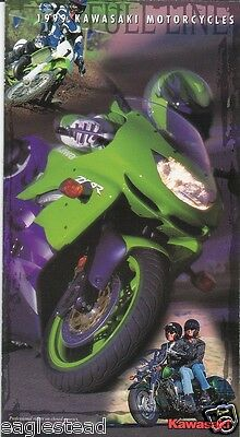 Motorcycle Brochure - Kawasaki - Product Line Overview - 1999 (DC125)