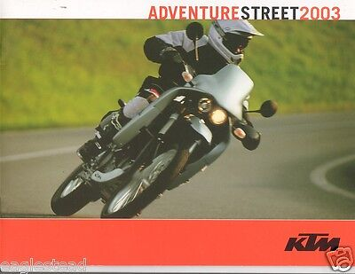 Motorcycle Brochure - KTM - Enduro EXC MXC - 2003 - Mike Lafferty (DC129)