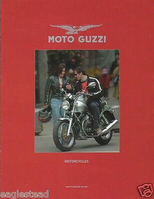 Motorcycle Brochure - Moto Guzzi - Product Line Overview - c2005 (DC150)
