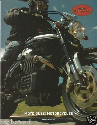 Motorcycle Brochure - Moto Guzzi - Product Line Overview - c2006 (DC151)