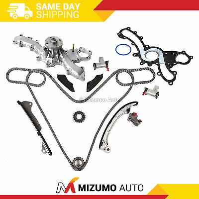 Timing Chain Kit Water Pump Fit Lexus Toyota 2.5L 3.5L DOHC 24V 2GRFE 2GRFXE