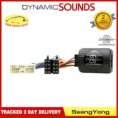 CTSSY004.2 Steering Stalk Control Adaptor  + FREE PATCH For SsangYong Actyon